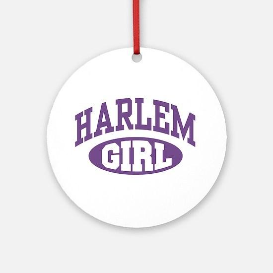 Harlem Girl Ornament (Round)