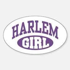Harlem Girl Oval Decal