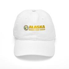 Alaska Born and Bred Baseball Baseball Baseball Cap