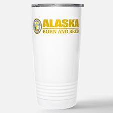 Alaska Born and Bred Travel Mug
