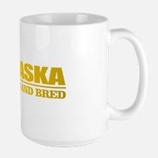 Alaska Born And Bred Mugs