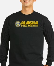 Alaska Born and Bred Long Sleeve T-Shirt