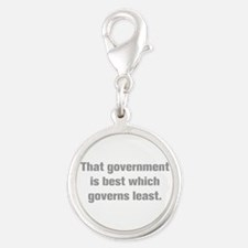 That government is best which governs least Charms