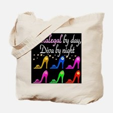 FIERCE PARALEGAL Tote Bag