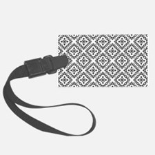 Floral Nouveau Deco Pattern Luggage Tag