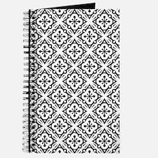 Floral Nouveau Deco Pattern Journal
