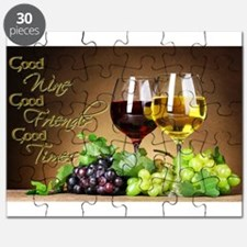 Good Wine Friends & Times Puzzle
