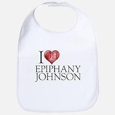 I Heart Epiphany Johnson Bib