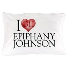 I Heart Epiphany Johnson Pillow Case