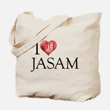 I Heart Jasam Tote Bag