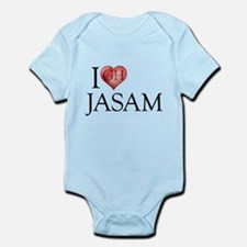 I Heart Jasam Infant Bodysuit
