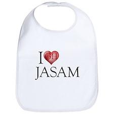 I Heart Jasam Bib
