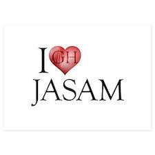 I Heart Jasam Invitations