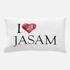 I Heart Jasam Pillow Case