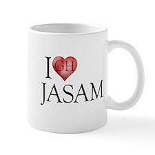 I Heart Jasam Mug