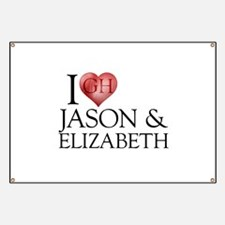 I Heart Jason & Elizabeth Banner