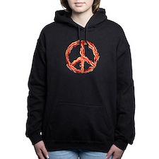 Peace of Bacon Women's Hooded Sweatshirt