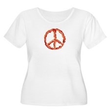 Peace Of Bacon Plus Size T-Shirt