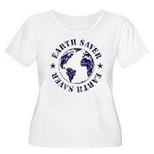 Save Earth Environmental Slogan T-Shirt
