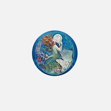 Clive Pearl Mermaid Mini Button