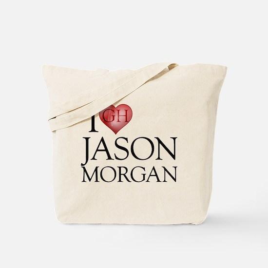 I Heart Jason Morgan Tote Bag