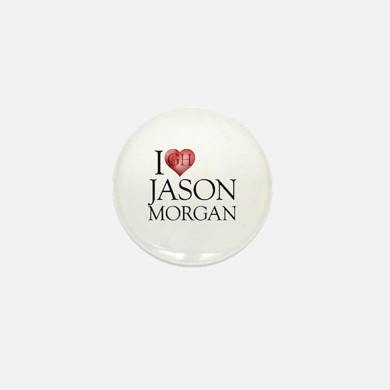 I Heart Jason Morgan Mini Button