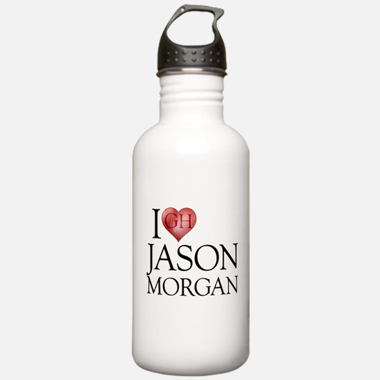 I Heart Jason Morgan Water Bottle