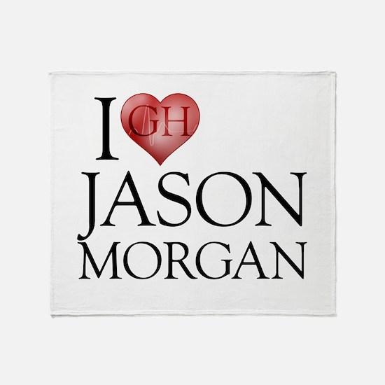 I Heart Jason Morgan Stadium Blanket