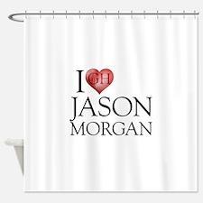 I Heart Jason Morgan Shower Curtain