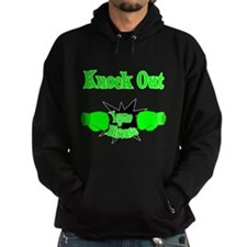 Knock Out Lyme Disease line green.png Hoody