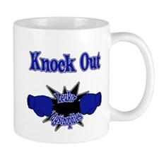 Knock Out Leukodystrophies blue.png Mugs