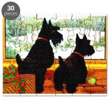 A Scotty Dog Christmas Puzzle
