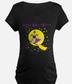 Halloween Witchy Pug T-Shirt