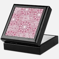 Pink Lace Keepsake Box