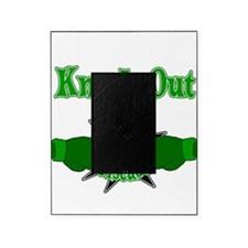 Knock Out Kidney Disease green.png Picture Frame