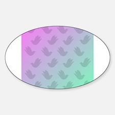 Dove Shadows on Opal Decal
