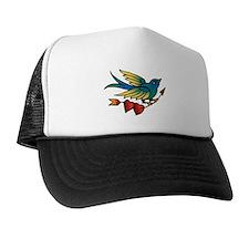 Bird Tattoo Art Trucker Hat
