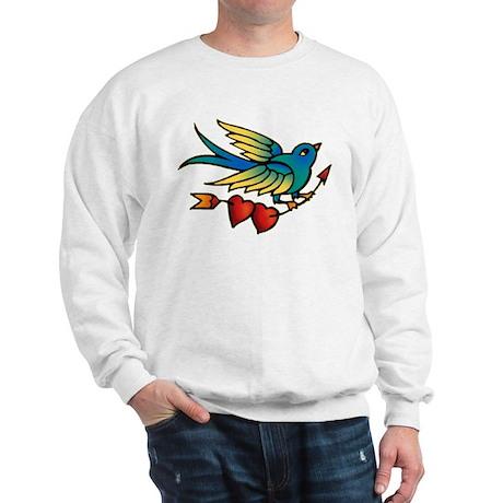 Bird Tattoo Art Sweatshirt
