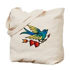 Bird Tattoo Art Tote Bag
