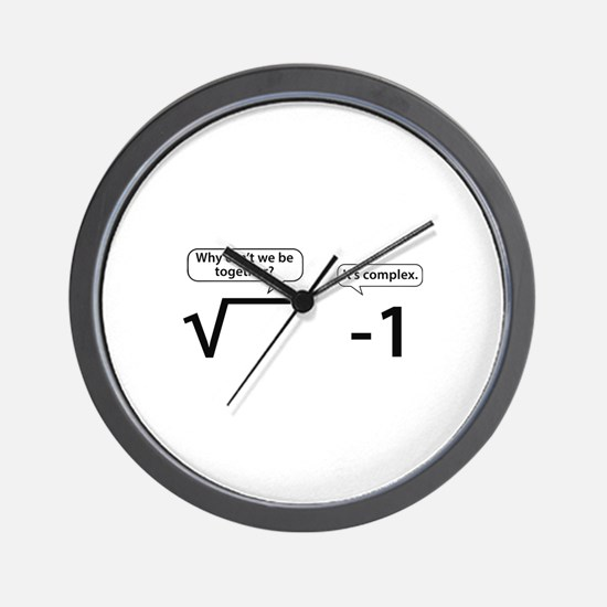 It's Complex Wall Clock