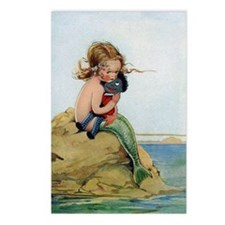 LITTLE MERMAID Postcards (Package of 8)