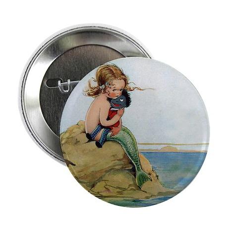 "LITTLE MERMAID 2.25"" Button (10 pack)"
