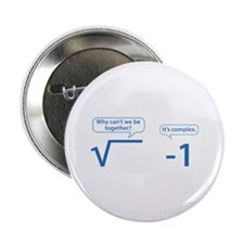 "It's Complex 2.25"" Button (10 pack)"
