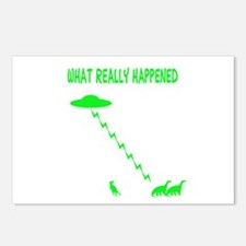 Funny Dinosaur Postcards (Package of 8)