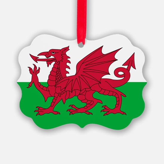 Welsh Flag of Wales Ornament