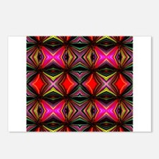 Migraine Optic Illusion Postcards (Package of 8)