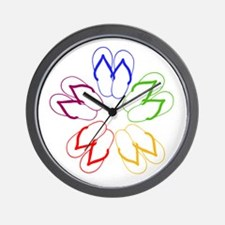 FLIP-FLOP FANATIC Wall Clock