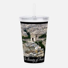 The Beauty of France Acrylic Double-wall Tumbler