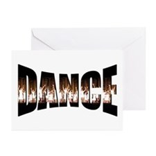 Dance Gallery Greeting Cards (Pk of 10)