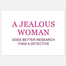 A Jealous Woman Invitations